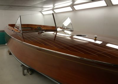 Varnishing a Superyacht Tender