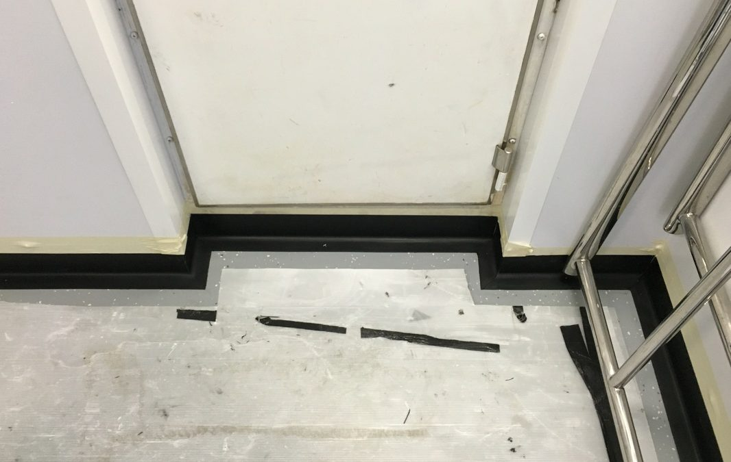 Marine Epoxy Resin Wet Room Flooring