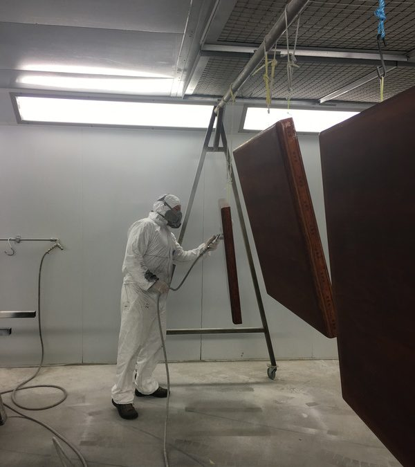 Clear Top Coat UV Curing Painting and Finishing