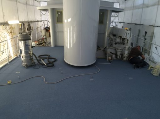 Marine Protective Coating of Tugboat
